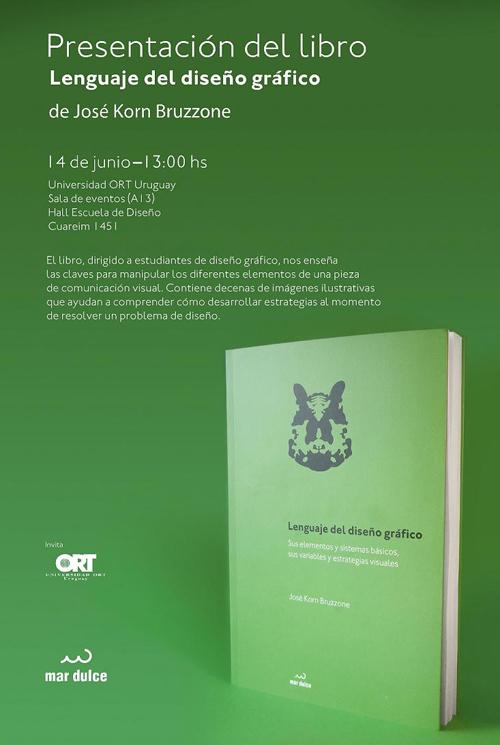 """Libro """"Lenguaje del diseño gráfico"""" de José Korn"""