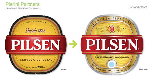 Comparativa etiquetas Pilsen