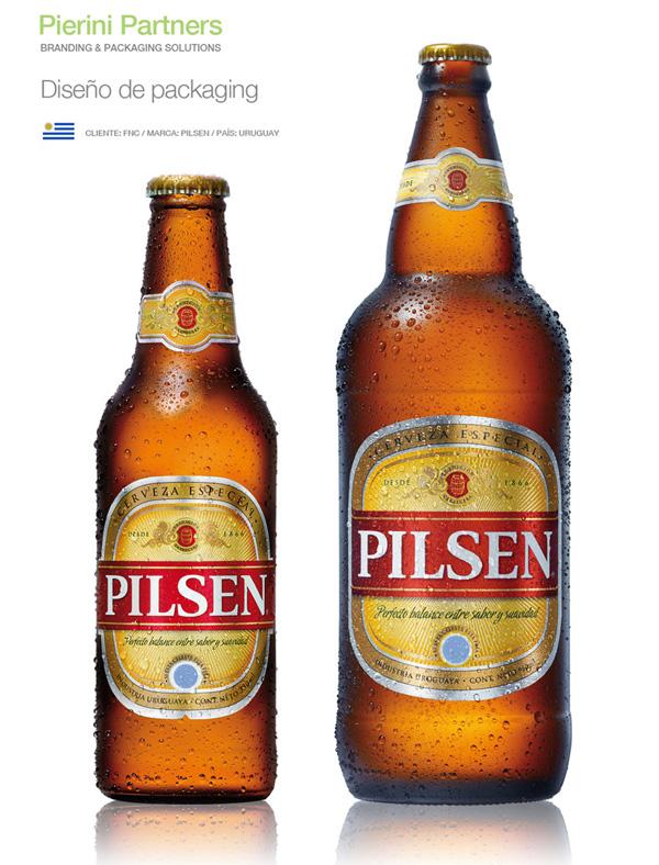 Diseño de packaging Pilsen