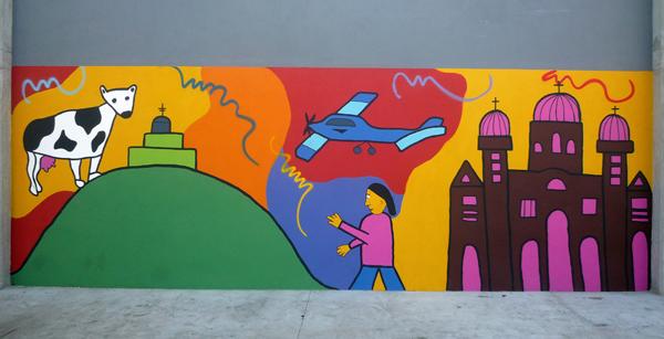 mural cerrito, por MADE